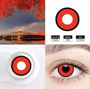 Halloween eye color tones