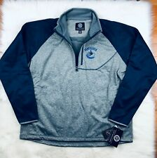 NHL Vancouver Canucks G-III Soft Shell 1/4 Zip Pullover Track Jacket Men's 2XL