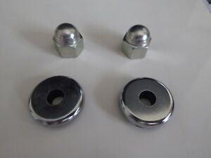 Datsun Roadster 1967.5 - 1970, R16 / 1600 CC Valve Cover Washers and Acorn Nuts