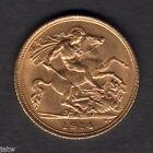 Australia. 1914 Sydney - Half Sovereign.. Full Lustre.. aUNC-UNC