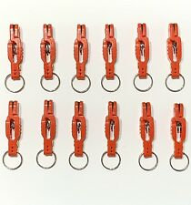 12 Snap Weight Release Clips with Pin Salmon Walleye Fishing Trolling With Ring