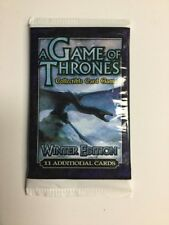A Game of Thrones Winter Edition Booster Pack NEW TCG CCG AGOT