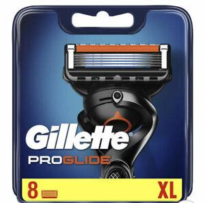 GILLETTE FUSION PROGLIDE 8 BLADES PACK NEW & SEALED 100% GENUINE FREEPOST