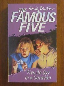 FIVE GO OFF IN A CARAVAN (FAMOUS FIVE #5) by ENID BLYTON SC 2001 EXC