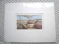 1951 Cadillac ORIGINAL Brochure ARTWORK PAINTING Automotive Art