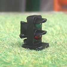 5 pc échelle OO HO nain signaux 2 feux fait de 3mm LEDs