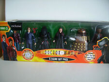 Doctor Who Woolworths Series 3 Action figure 6 Pack Gift Set RARE