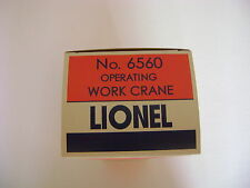 Lionel 6560-9 Gray Bucyrus Erie Licensed Reproduction Box