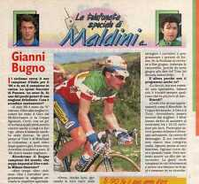 Q32 Clipping-Ritaglio 1996 Gianni Bugno intervista
