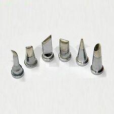 For Weller Soldering Station solder Iron Tip 6 pcs