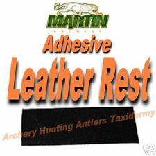 "Adhesive LEATHER Arrow SHELF REST Bow Archery 1"" X 3"" TRADITIONAL Recurve Bow"