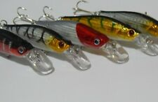 fishing lures Pike, Perch, Trout, Chub Set of 5 as shown set 10