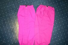 "17"" Avalanche Gaiters NEW Pink Non-Reversible Nylon Unisex One Size"