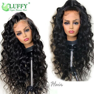 Transparent 13*6 HD Lace Front Wigs Brazilian Remy Human Hair Wigs Pre Pluckeded