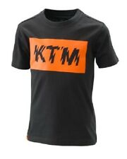 KTM T-SHIRT KIDS RADICAL LOGO TEE BLACK 3PW20002320 SIZE 152/L