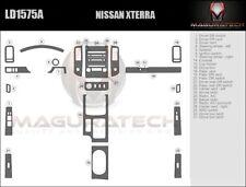 Fits Nissan Xterra 2009-2012 W/6-Disc Radio Large Premium Wood Dash Trim Kit
