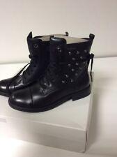 Geox JR SOFIA J Stiefeletten  Boots Schwarz Kinderschuhe Stiefel Gr. 38 AR