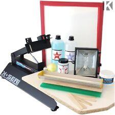Maquina Serigrafía camisetas + Kit | imprimir camiseta | pack