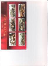 2015 paquete de presentación de Royal Mail la batalla de Waterloo incluso Mini Hoja