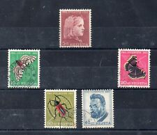 Pro Juventud Mariposas e insectos serie año 1953 (DQ-892)