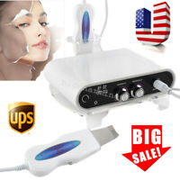 USA Ultrasonic Facial skin Scrubber peeling Anti-aging wrinkle-remove Cleaner