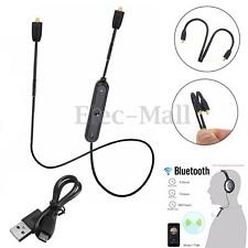 Bluetooth 4.1 Wireless Adapter Receiver Cable for Shure SE215 SE535 SE425 SE846