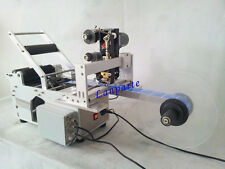Semi-automatic Round Bottle Labeling Machine With Date Code Printer 220V
