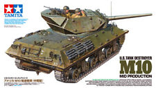 Tamiya 35350 M10 Tank Destroyer Mid Production & Crew 1/35 Scale Model Kit