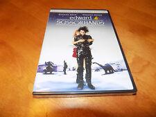 EDWARD SCISSORHANDS Anniversary Edition Johnny Depp Winona Rider DVD SEALED NEW