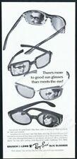 1965 Ray Ban sunglasses 4 styles photo vintage print ad