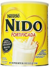 Nestle NIDO Fortificada Dry Milk, 3.52 Pound Canister, New, Free Shipping