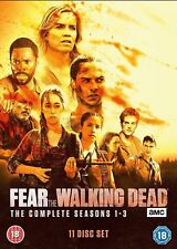 FEAR THE WALKING DEAD: The Complete Seasons 1-3 DVD Box Set * Brand New & Sealed