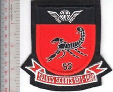Rhodesia Defence Force Army Selous Scouts RECON 5-3 Commando Special Forces 1971