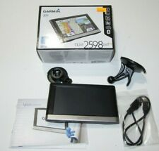 Garmin nüvi 2598LMTHD Advanced Series 5-Inch Touchscreen GPS Working  READ