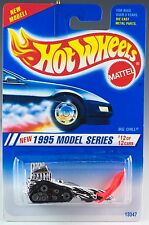 Hot Wheels No. 352 1995 Model Series #12 Big Chill Snowmobile New On Card