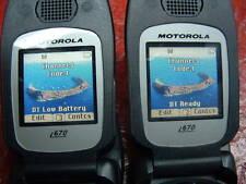 Lot of 2: Motorola Nextel iDEN i560 Black *RUGGED* DIRECT TALK*Unlock Mexico