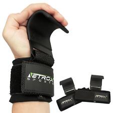 Profi Zughilfe Zughaken Fitness Sport Handschuhe Krafttraining Herren Damen