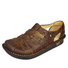 Alegria PESCA Women US 9 Brown Gladiator Sandal