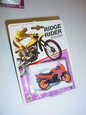 Vintage ZEE Toy 1986 Ridge Rider Import Ninja Motorcycle Diecast MIP