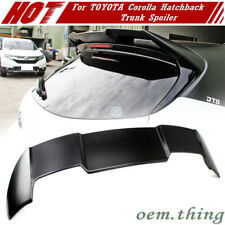 Unpainted For TOYOTA Corolla Auris E210 5DR Hatchback Rear Trunk Spoiler 2021
