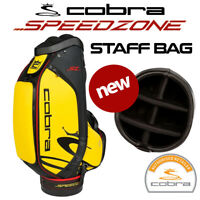 Cobra SPEEDZONE SZ Tour Staff Golf Bag 6-WAY Yellow/Black/Red - NEW! 2020