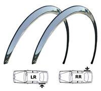 FORD TRANSIT Mk7 Wing Wheel Arch Quater Panel Trims New REAR Set 2 pcs Chrome