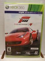 Forza Motorsport 4 (Microsoft Xbox 360, 2011) New Sealed Top Gear BB27