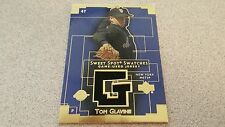 2003 UPPER DECK SWEET SPOT SWATCHES TOM GLAVINE METS BRAVE GAME USED JERSEY CARD