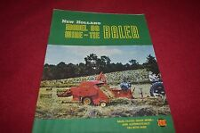 New Holland 80 Wire Tie Baler Dealers Brochure YABE10