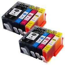8x cartuchos para HP 934XL + HP 935XL OfficeJet Pro 6230 6800 Series 6820 6830