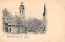 CPA 75 PARIS EXPOSITION UNIVERSELLE 1900 PAVILLON DE LA FINLANDE