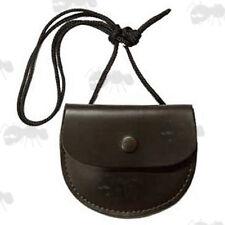 Bisley Leather Pellet Pouch Carry Shoulder Bag Air Rifle Gun Shooting