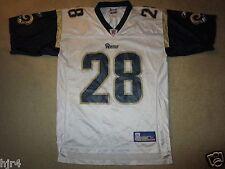 Marshall Faulk #28 St. Louis Rams Reebok Jersey Medium M
