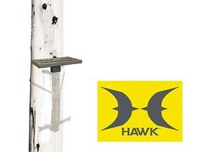 HAWK Helium Hammock Tree Saddle Hunting Small Platform Tethered Single Stick NEW
